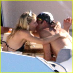 Sienna Miller & Boyfriend Lucas Zwirner Pack on the PDA on Vacation in Spain