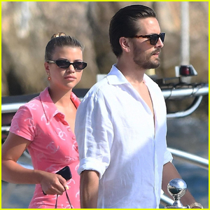 Sofia Richie & Scott Disick Go Shopping in the South of France