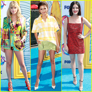Maddie Ziegler & Madison Beer Rock Chic Outfits at Teen Choice