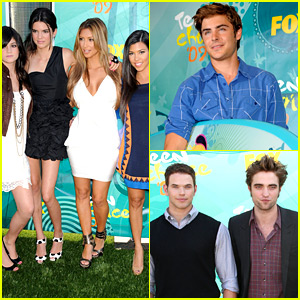 Look Back at the Teen Choice Awards from Ten Years Ago!