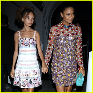 Thandie Newton & Daughter Nico Parker Are a Fashion Forward Pair!