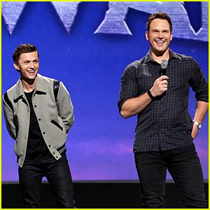 Tom Holland & Chris Pratt Unveil a New 'Onward' Sneak Peek at Disney's D23 Expo!