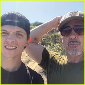 Tom Holland Goes Hiking with Robert Downey Jr. Amid Big Spider-Man News