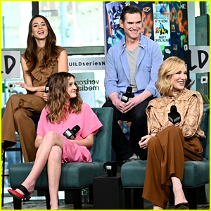Troian Bellisario Joins Cate Blanchett For 'Where'd You Go, Bernadette?' Promo in NYC