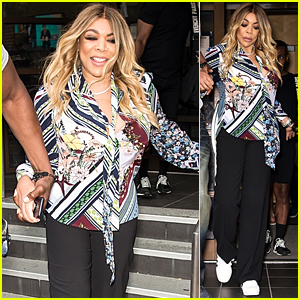 Wendy Williams Is All Smiles Promoting Her Comedy Tour in Philadelphia