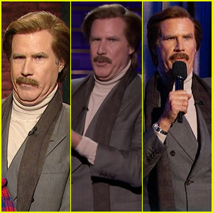 Will Ferrell Plays Ron Burgundy on Every Late Night TV Show – Watch
