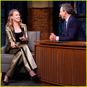 Yvonne Strahovski Admits She's Slowly Losing Her Australian Accent on 'Late Night'!