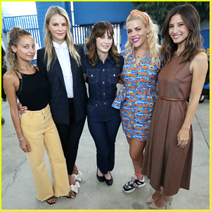 Baby2Baby's Zooey Deschanel, Nicole Richie & Busy Philipps Help Donate One Million Backpacks To SoCal Students!