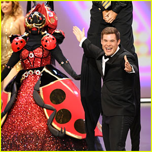 Adam Devine Performs with the Masked Singers at Emmys 2019 as a Tribute to Variety Shows