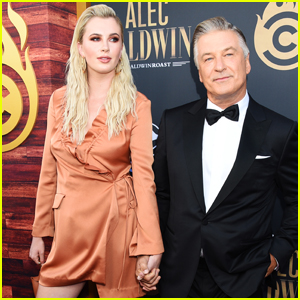 Alec Baldwin is Supported by Daughter Ireland at Comedy Central Roast!