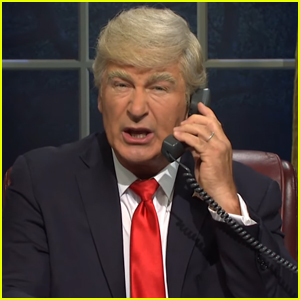 Alec Baldwin Returns as President Trump for 'Saturday Night Live' Premiere Cold Open - Watch!