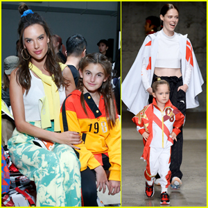 Alessandra Ambrosio & Coco Rocha Bring Their Daughters to China Day: Anta Kids Fashion Show!