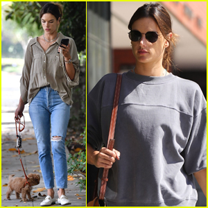 Alessandra Ambrosio Makes Time For Fitness While Home in LA