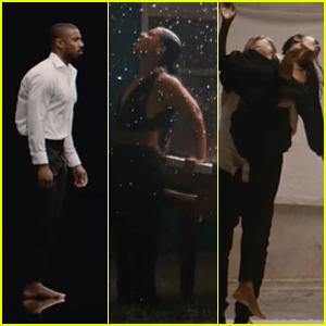 Michael B. Jordan, Zoe Saldana & Husband Marco Perego Star in Alicia Keys & Miguel's 'Show Me Love' Video - Watch!