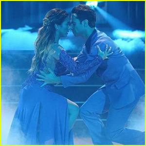 Ally Brooke Gives a Graceful Viennese Waltz During 'DWTS' Week 2 - Watch Now!