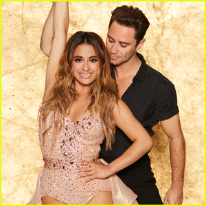 Ally Brooke Gives a Nod to Fifth Harmony During 'DWTS' Week 1 - Watch!