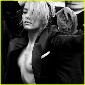 Amber Heard Frees the Nipple in New 'Interview' Photo Shoot