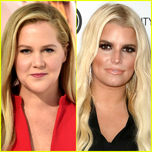 Amy Schumer Shouts Out Jessica Simpson Over Post-Baby Weight Loss Reports