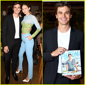 Antoni Porowski Gets Support from Gigi Hadid at Cookbook Launch!