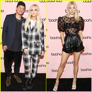 Ashlee Simpson & Evan Ross Help Close Out NYFW at Boohoo Party!