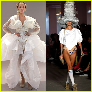 Bella Hadid Wears Epic Wedding Gown for Vivienne Westwood Show