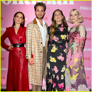 Ben Platt & 'The Politician' Co-Stars Attend the London Premiere!