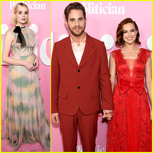 Ben Platt Zoey Deutch The Politician Stars Attend The