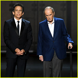 Bob Newhart Surprises Emmys Crowd to Remind Ben Stiller He's Still Alive