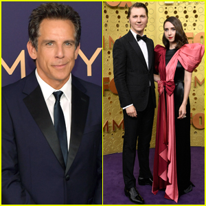 Ben Stiller, Paul Dano, & Zoe Kazan Attend Emmy Awards 2019
