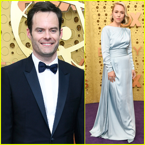 Bill Hader & 'Barry' Co-Star Sarah Goldberg Step Out for Emmy Awards 2019