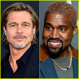 Brad Pitt Reveals How He Became Friends with Kanye West