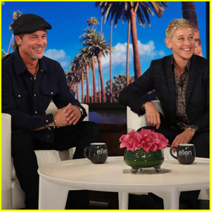 Brad Pitt & Ellen DeGeneres Reveal They Share the Same Ex-Girlfriend - Watch!