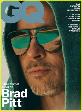 Brad Pitt Reveals Which People He's Most Drawn To