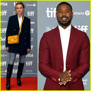 Michael B. Jordan & Brie Larson Talk About Playing Real-Life Superheroes in 'Just Mercy'