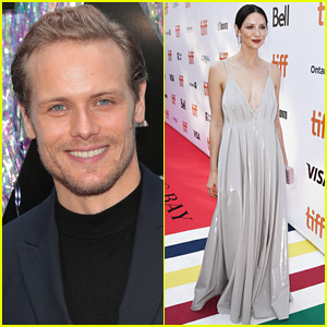 Outlander's Sam Heughan Praises Caitriona Balfe's Red Carpet Look!