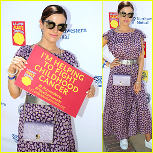 Camilla Belle Attends L.A. Loves Alex's Lemonade Event to Fight Childhood Cancer