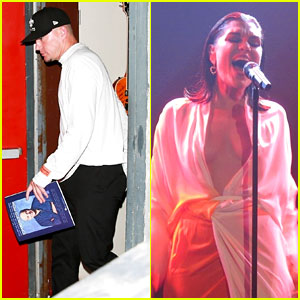 Channing Tatum Supports Jessie J at Intimate L.A. Show!