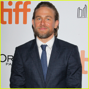 Charlie Hunnam Suits Up for