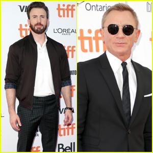 Chris Evans & Daniel Craig Premiere 'Knives Out' at TIFF 2019