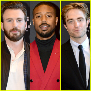 Chris Evans, Michael B. Jordan, & Robert Pattinson Step Out for EW's Must List Party at TIFF 2019