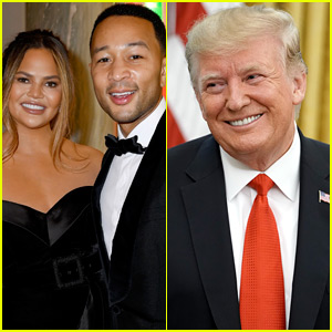 Chrissy Teigen & John Legend Fire Back After Donald Trump Calls Her a 'Filthy Mouthed Wife'