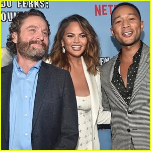 Zach Galifianakis, Chrissy Teigen, & John Legend Premiere Netflix's 'Between Two Ferns'