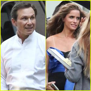 Christian Slater & Amanda Peet Begin Filming 'Dirty John' Season Two