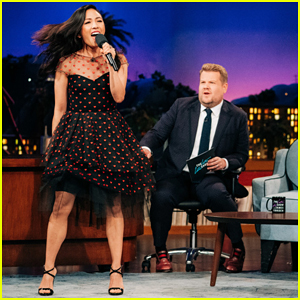 Constance Wu Shows Off Her Jennifer Lopez Impersonation on 'Late Late Show' - Watch Here!