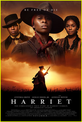 The Poster for Cynthia Erivo's Movie 'Harriet' Has Arrived