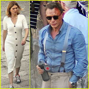 Daniel Craig Films More Action-Packed Scenes for Bond Movie!