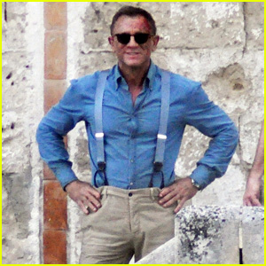 Daniel Craig Appears Bloody on the Set of James Bond Movie 'No Time to Die'!