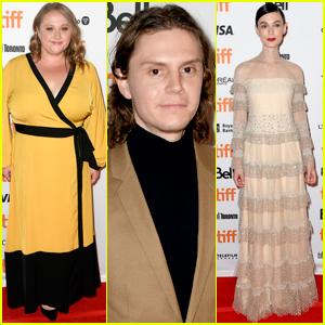 Danielle Macdonald, Evan Peters, & Tilda Cobham-Hervey Attend 'I Am Woman' Premiere at TIFF 2019