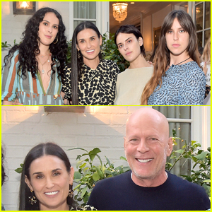Demi Moore Had The Support Of Her Kids Ex Husband Bruce