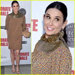Demi Moore is All Smiles at 'Corporate Animals' Premiere!
